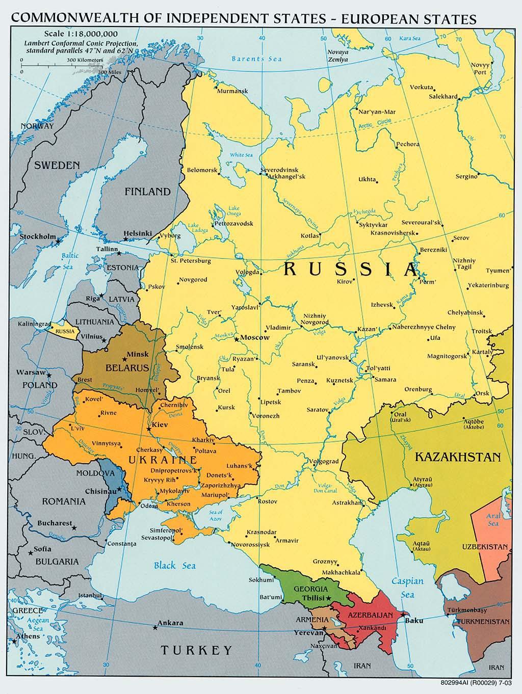 El relanzamiento de las relaciones entre la unión europea y rusia